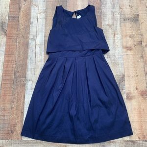 W118 by Walter Baker | Navy Blue Sheila Dress